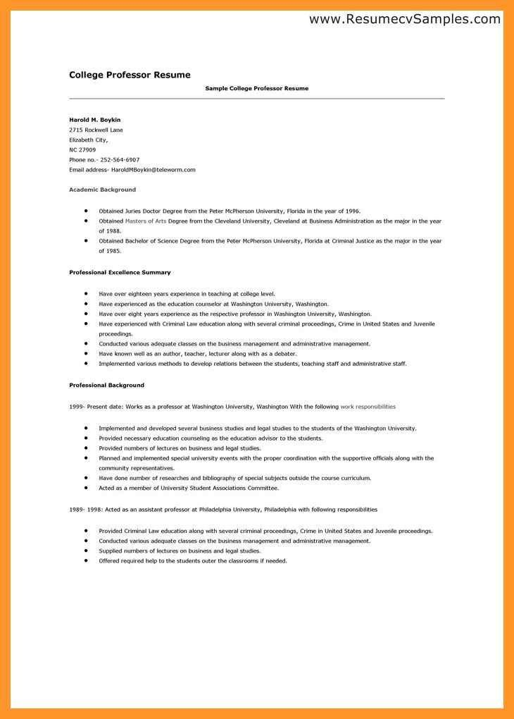 Student Resume For College Applications Template. high school ...