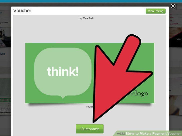How to Make a Payment Voucher: 5 Steps (with Pictures) - wikiHow