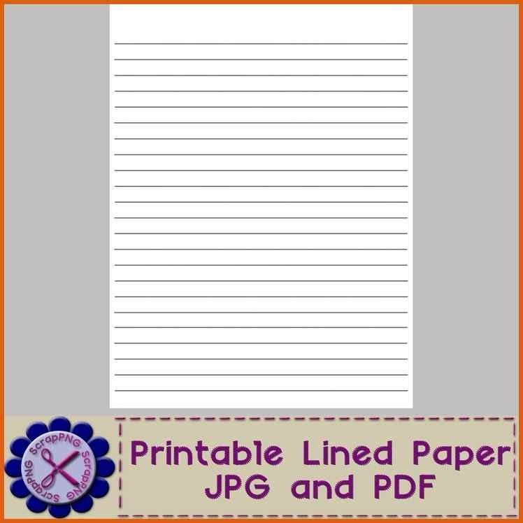 Lined Chart Paper | Samples.csat.co