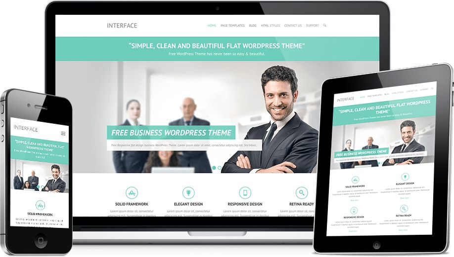 15+ Best Free WordPress Responsive Business Themes - IO Themes