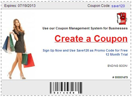 Make a Coupon for Business Site Goes Live -- CashOff | PRLog