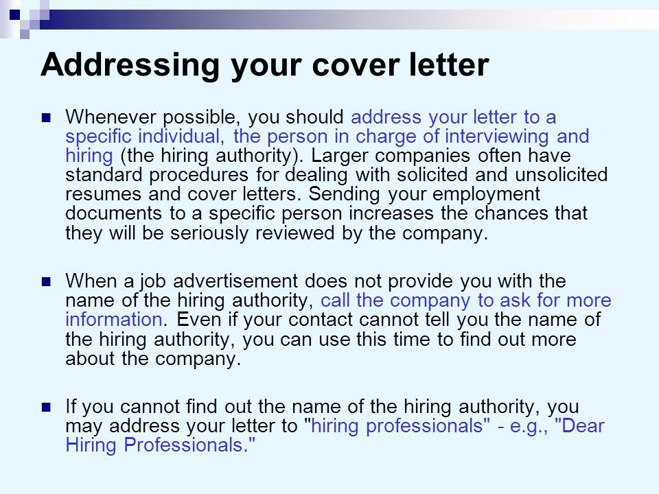 salutation for cover letter human resources cover letter. related ...