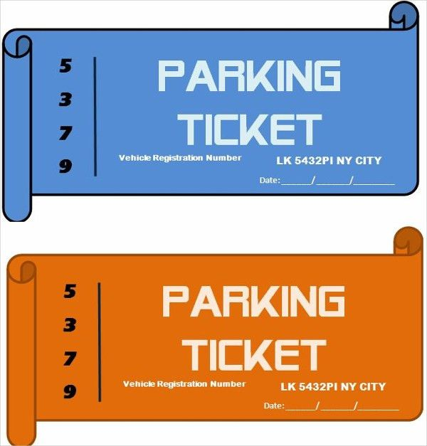 17+ Ticket Templates - Free Sample, Example, Format | Free ...