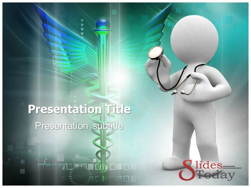 Animated Doctor Powerpoint Template | Medical Science | Pinterest ...