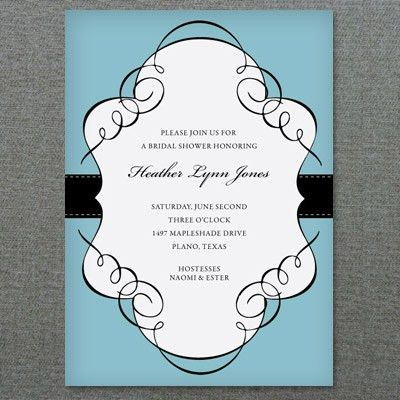 Bridal Shower Invitation Template – Download & Print
