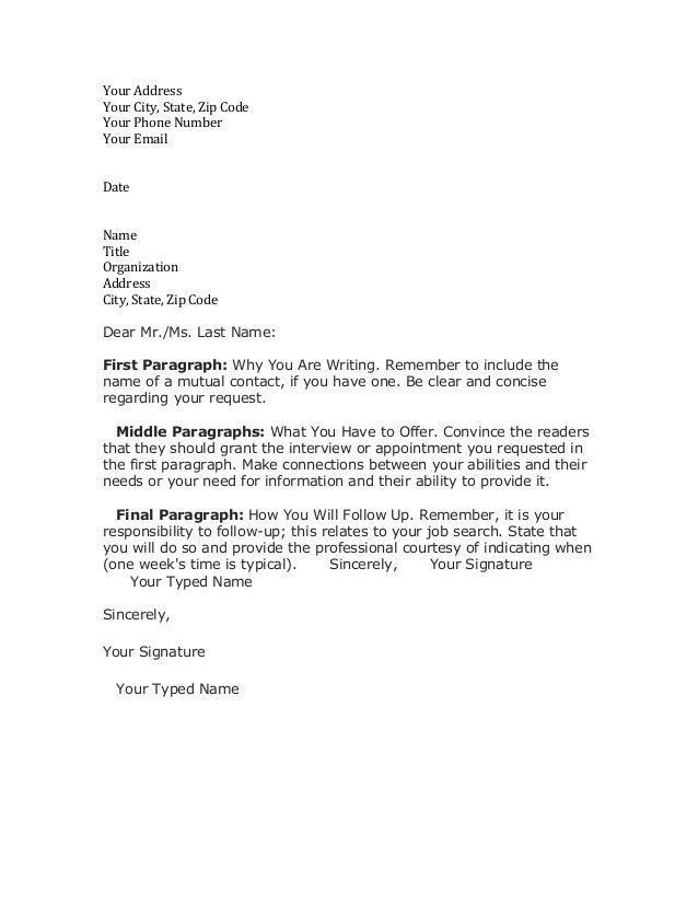 Writing A Letter Of Resignation Template