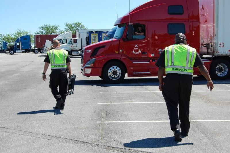 Roadcheck cargo securement inspection tips for trucking | Safety ...