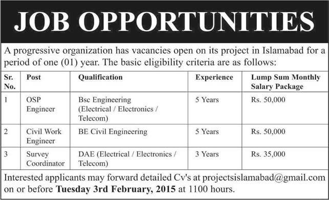 Electrical / Electronics / Telecom / Civil Engineering Jobs in ...