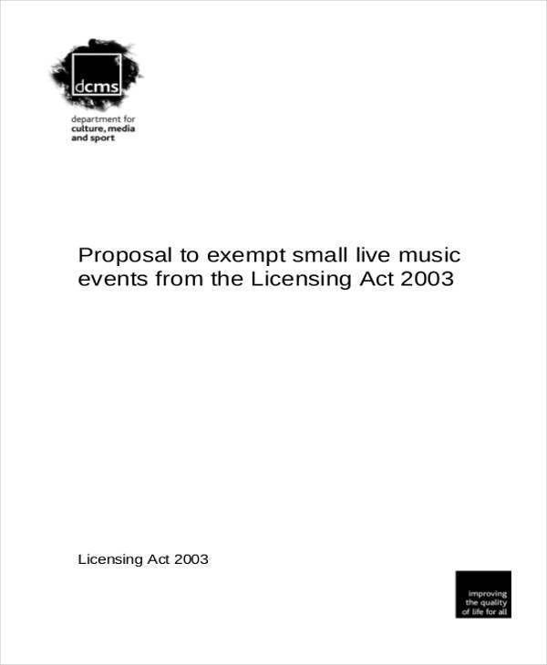 39+ Free Proposal Templates