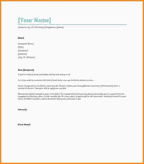 10+ letter templates free | mac resume template
