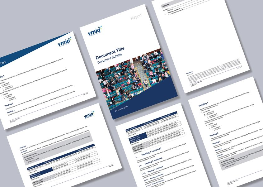 Government agency report Word templates - Cordestra