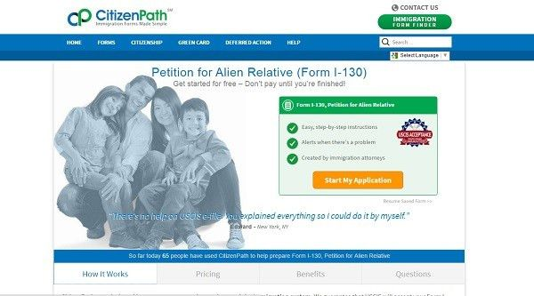 Form I-130, Petition for Alien Relative, FAQs – Support | CitizenPath