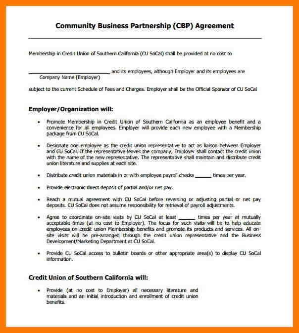 11+ business agreement format | park-attendant