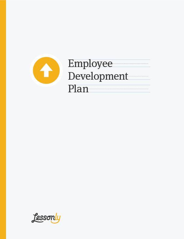 FREE Employee Development Plan Template - Lessonly