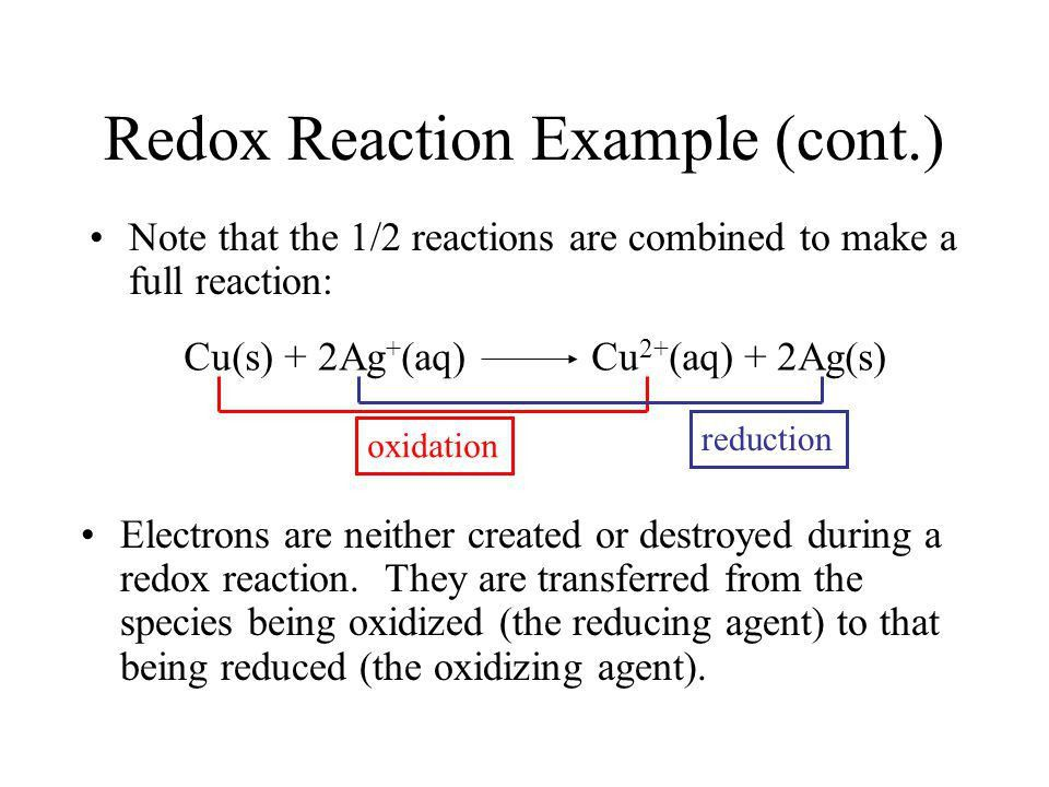 Lecture 10: Electrochemistry Introduction Reading: Zumdahl 4.10 ...