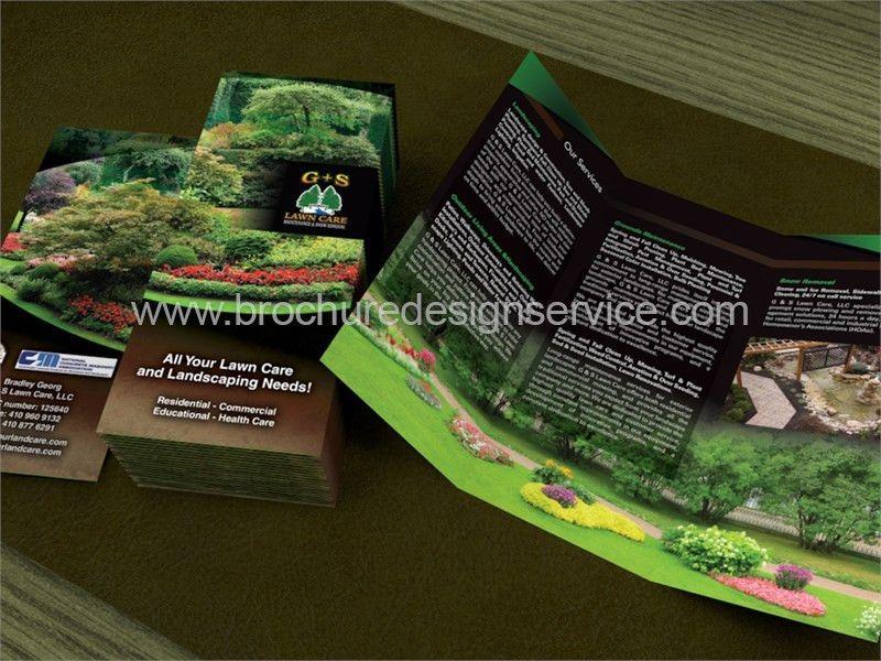 Lawn Care Brochure - Lawn Mowing Company - Brochure Designers ...