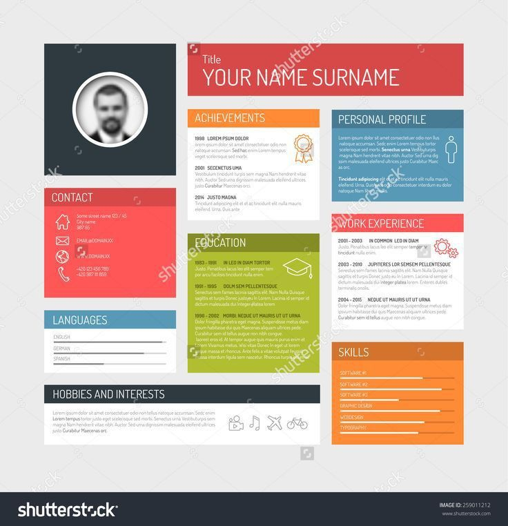 16 best Resume Templates images on Pinterest | Resume templates ...