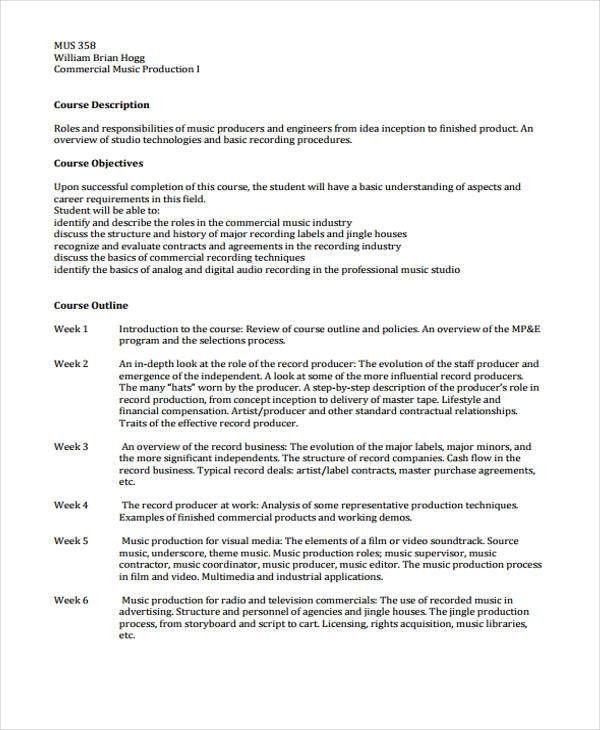 8+ Music Business Proposal Templates - Free Sample, Example Format ...
