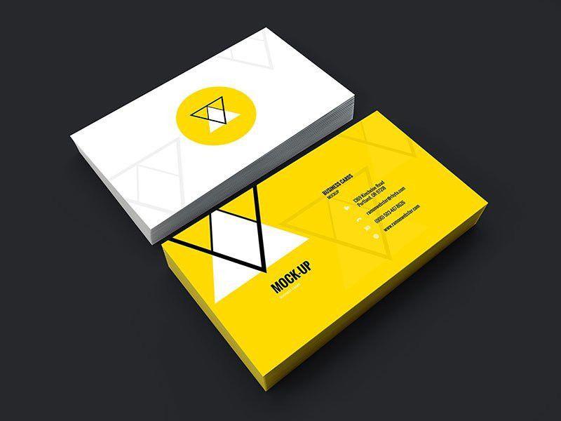 25+ Free PSD Business Card Template Designs - DesignMaz