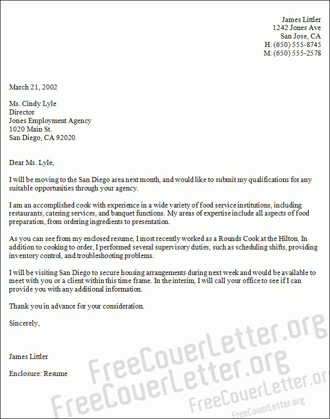 Culinary Cover Letter Chef Cover Letter Samples Chef Cover Letter ...