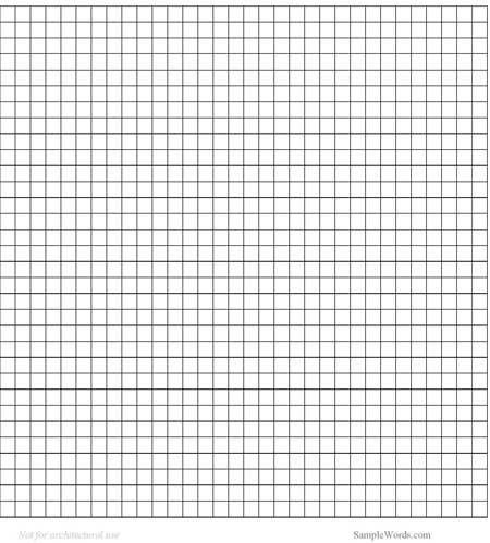 Graph Paper Template | Graph paper, Free and Free printable