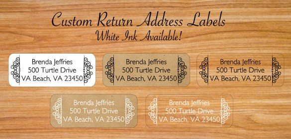 20+ Return Address Label Templates - Free Sample, Example Format ...