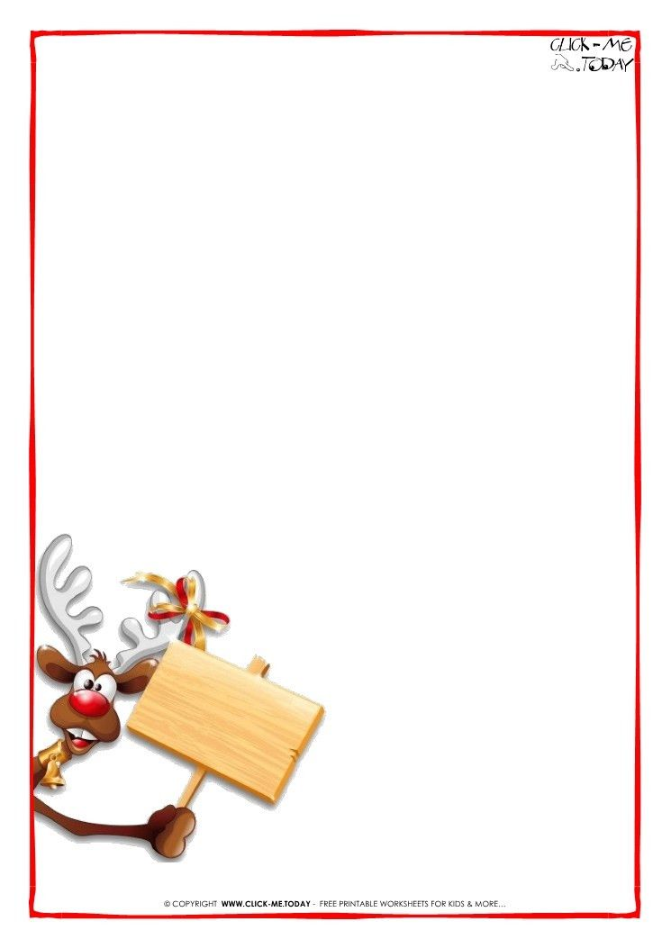 20 Best Of Letter From Santa Free Template Word Pictures Complete - microsoft word santa letter template