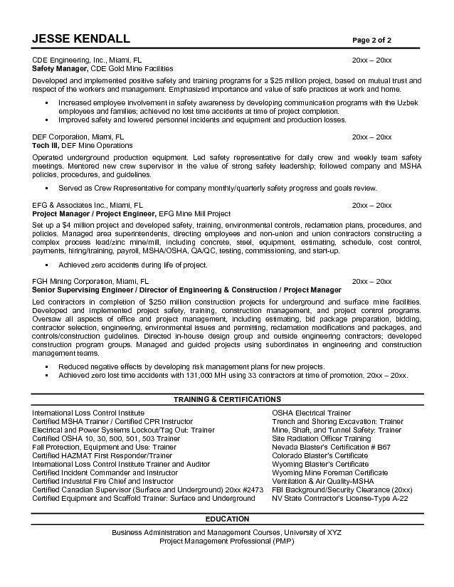 Construction Superintendent Resume | haadyaooverbayresort.com