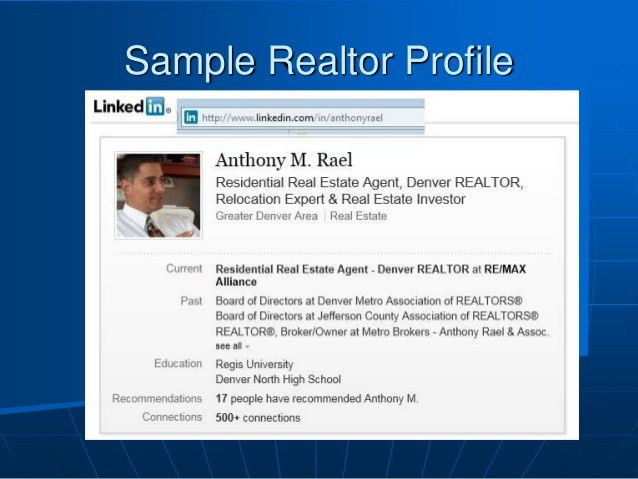 LinkedIn for the Real Estate Professional