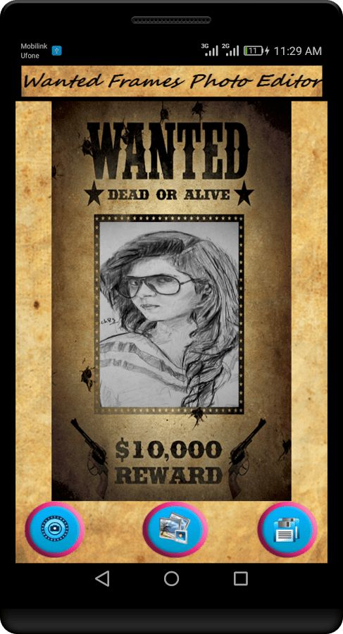 Most Wanted Poster - Wanted Frames Photo Editor - Android Apps on ...