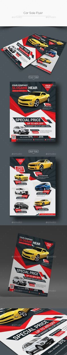 Car For Sale Flyer Template. Car For Sale - Fully Editable Poster ...