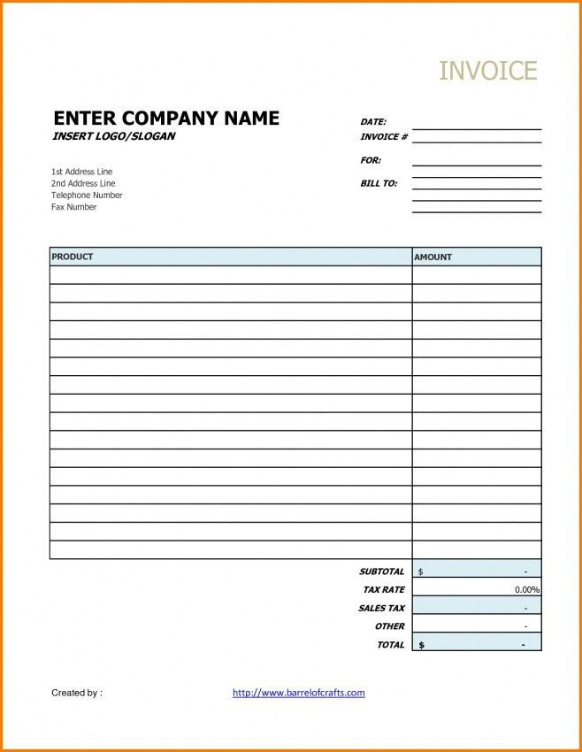 Basic Invoice Template Google Docs | Design Invoice Template