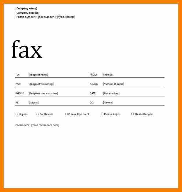 Sample Fax Cover Sheet For Resume. Sample Cover Letter Fax ...