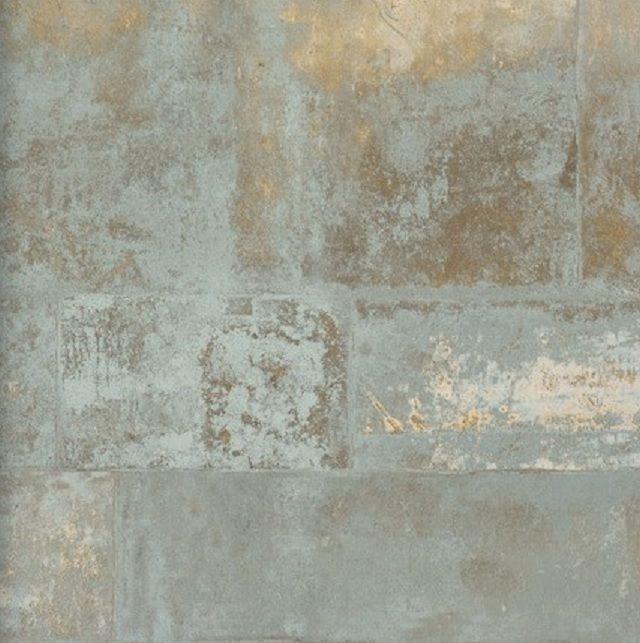 Neu! Vlies Tapete 47213 Stein Muster Bruchstein gold grau metallic ...