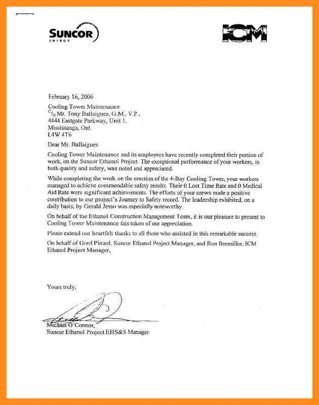employment reference letter samples - thebridgesummit.co