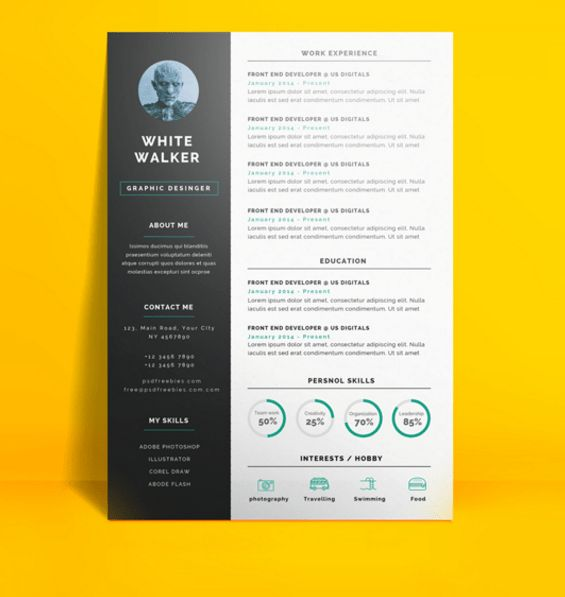 25 Best Ideas About Free Creative Resume Templates On Pinterest ...