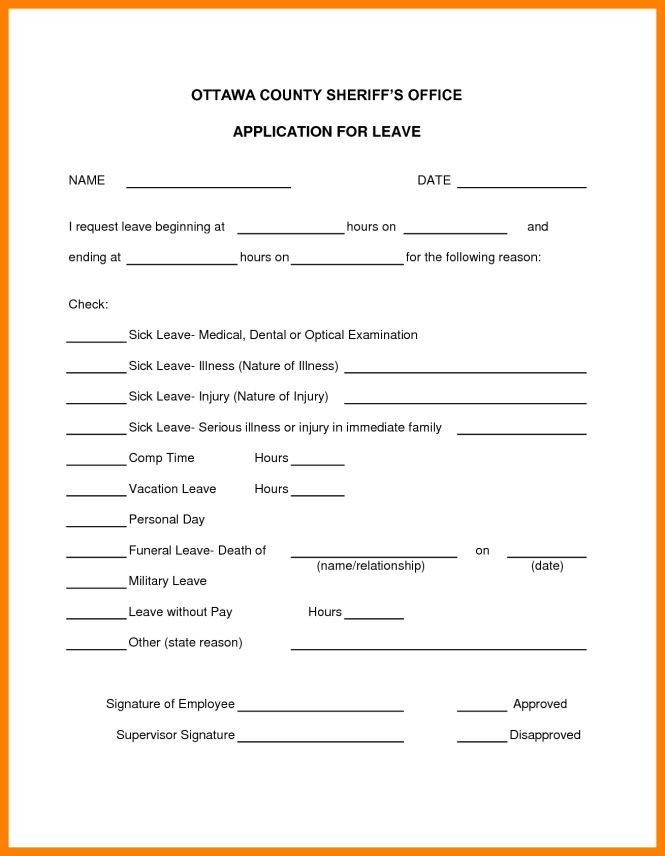Sick Leave Template. medical certificate template 20 free word pdf ...