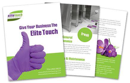 Print Design Charlotte NC | Tri-fold Brochure | Corporate ...