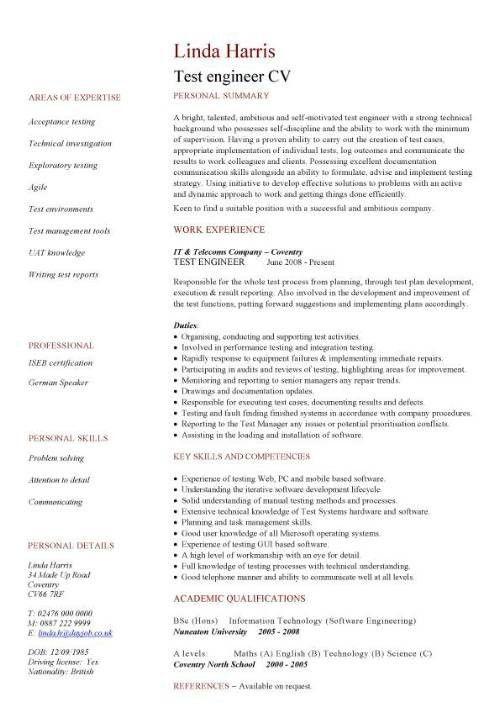 Engineering Cv. 7+ Mechanical Engineering Cv Sample 7+ Mechanical ...