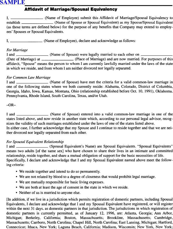 Affidavit Form In Pdf. 32 Affidavit In Support Of Motion For ...