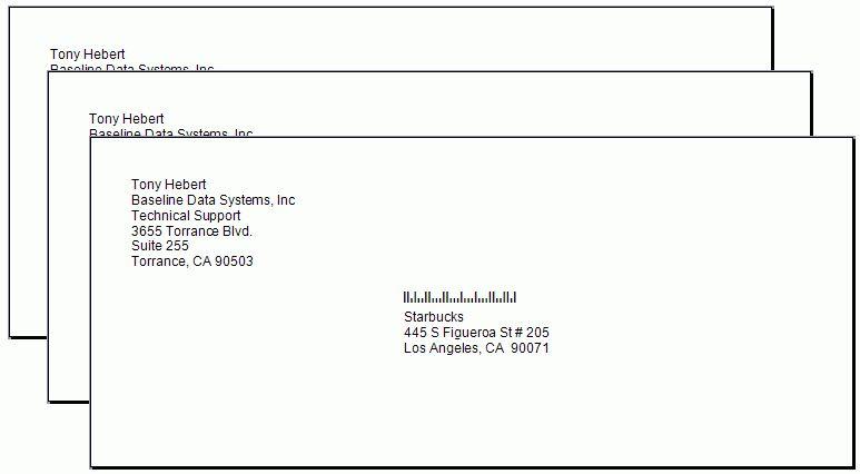 Multiple Envelope (AMS)