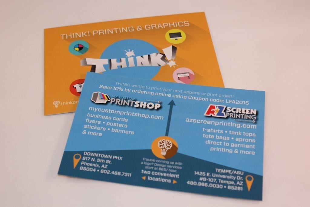 Flyer Printing | Postcards Printing | Offset Printing | Think Pro
