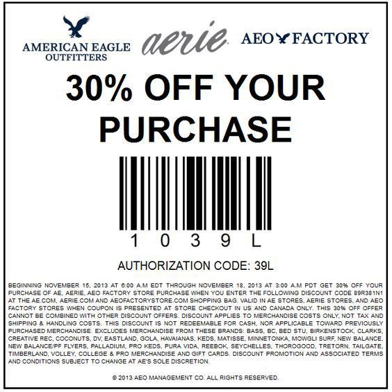 2017 American Eagle Coupons | Coupon Codes Blog
