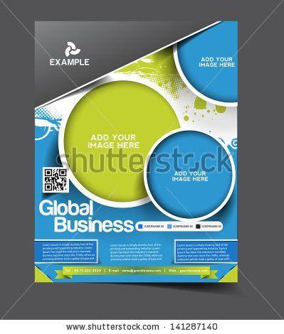 Vector Design Flyer Poster Template Your Stock Vector 222997258 ...