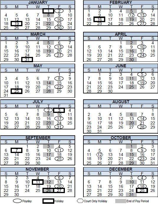 Bi Weekly Payroll Calendar 2016 Template | Calendar Template 2017