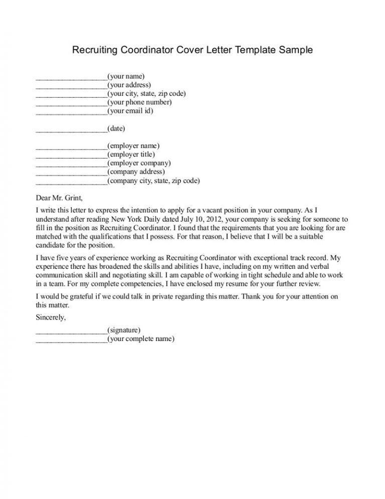 Clerk Typist Cover Letter Sample