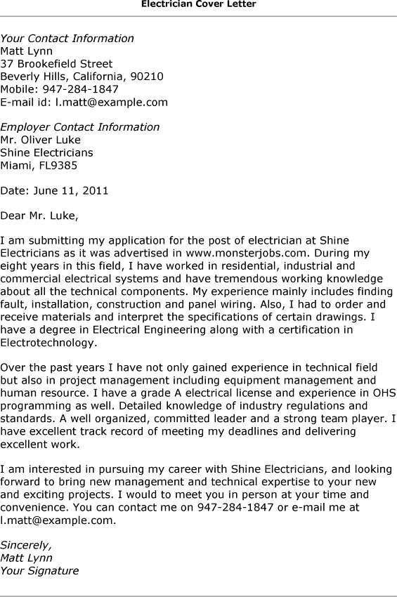 Auto Mechanic Apprentice Cover Letter
