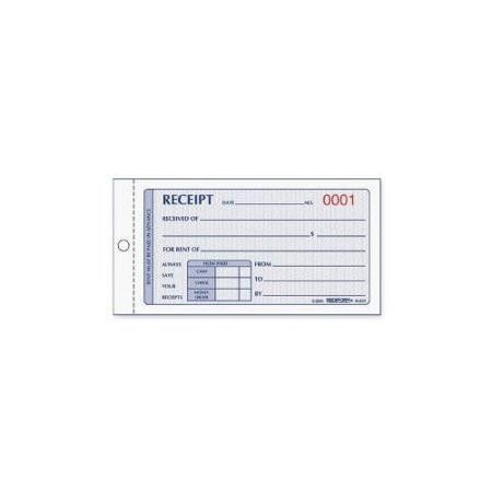 Buy REDIFORM OFFICE PRODUCT Rent Receipt Book, Carbonless, 2 Parts ...