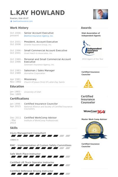 Senior Account Executive Resume samples - VisualCV resume samples ...