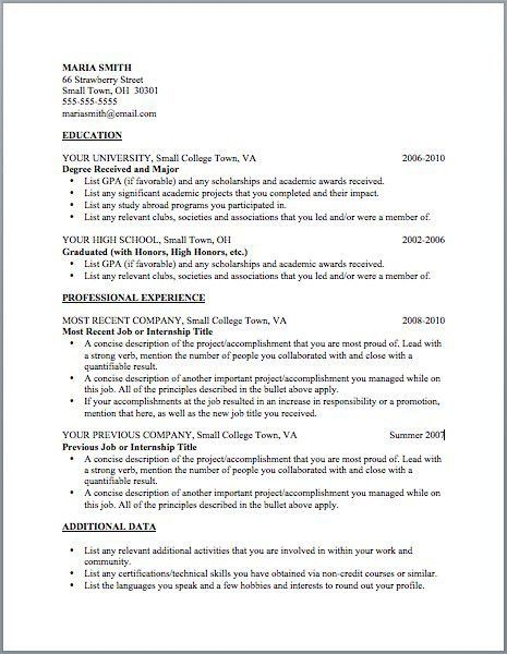 Examples Of Resumes For Management Positions. Click Here To ...